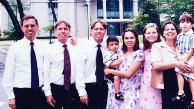 Wizard com a família