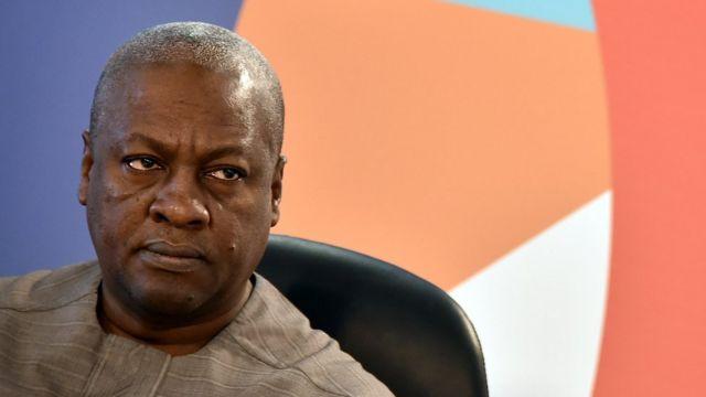 Former Ghana President John Dramani Mahama