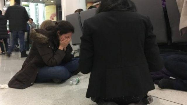 چهار سال پیش اجرای فرمان ترامپ صدها خانواده از جمله ایرانیان را در فرودگاهها سرگردان کرد