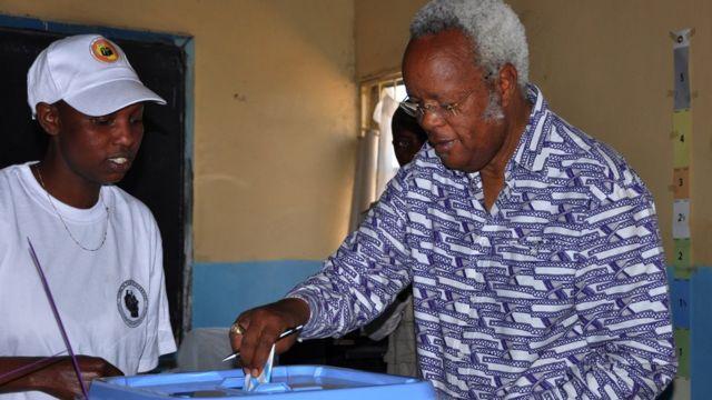 Aliyekuwa mgombea urais wa chama cha (CHADEMA) Edward Lowasa