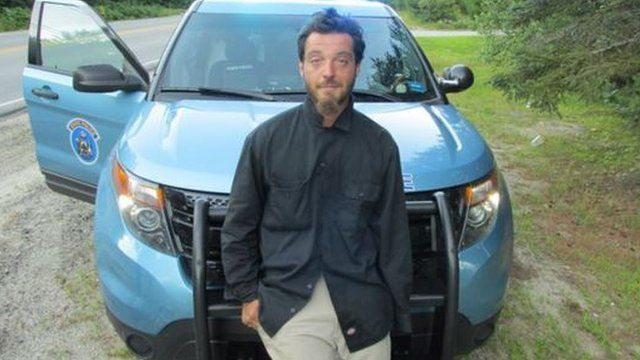 A handout picture from Maine State Police showing Corey Berry, who was charged with criminal threatening