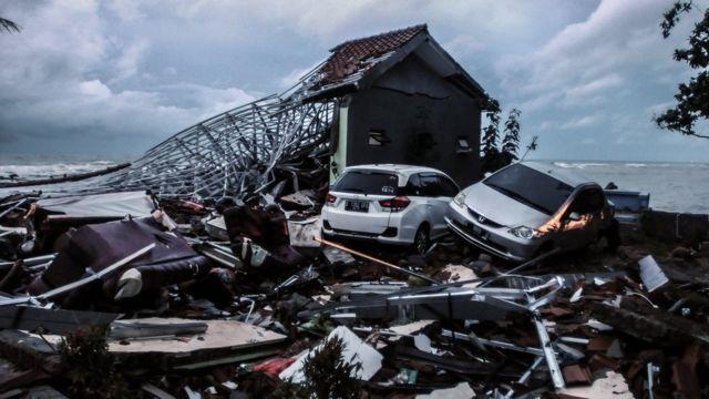 印尼海啸造成严重灾情