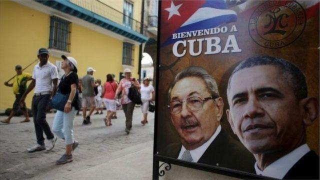 Nta mukuru wa US yaheruka muri Cuba