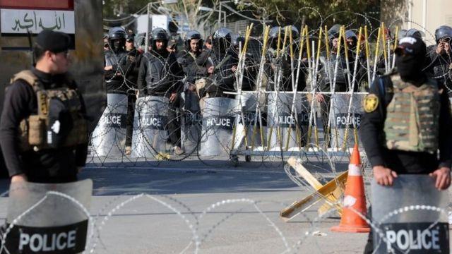 قوات من الشرطة العراقية