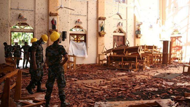 သီရိလင်္ကာ ဗုံးခွဲတိုက်ခိုက်မှုတွေအပြီး ရဲတပ်ဖွဲ့နဲ့ လုံခြုံရေး တပ်ဖွဲ့တွေကို ပြုပြင်ဖွဲ့စည်းမှုတွေ လုပ်မယ်
