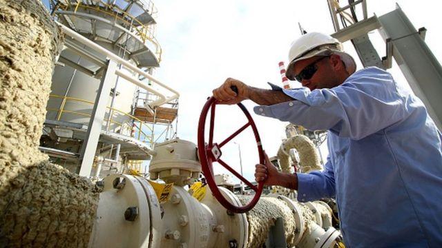 یکی از پالایشگاههای نفت عراق در جنوبغربی بصره