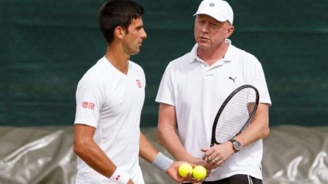 Djokovic da Boris Becker