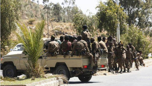 قوات إثيوبية في ميكيلي عاصمة إقليم تيغراي