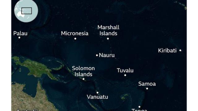 Visiwa vya bahari ya pacific havikuandikisha mgonjwa yeyeote wa corona