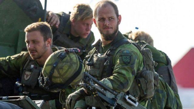 шведскиий солдат