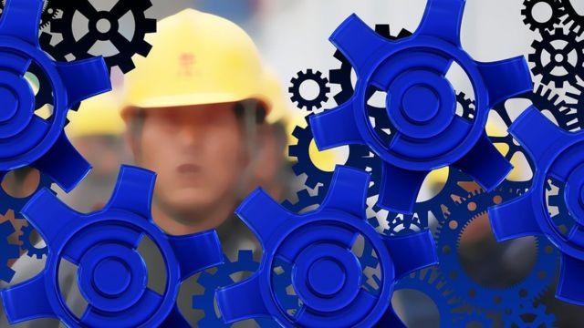 Obreros y engranajes