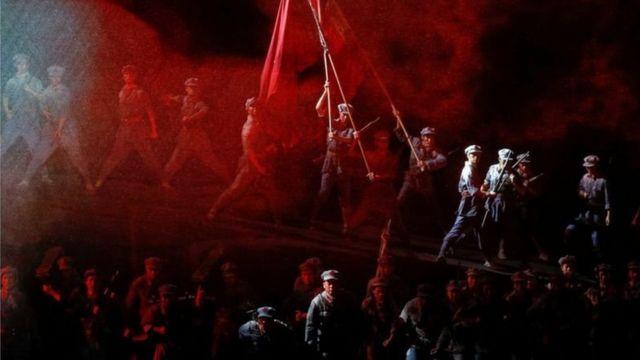 Scene from the opera