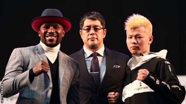 Floyd Mayweather dan Tenshin Nasukawa