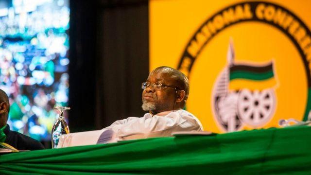 Le ministre sud-africain des mines Gwede Mantashe