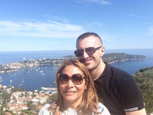 Camila Oliveira e Guillaume Chabosseau testemunharam atentado