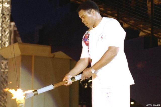 Muhammad Ali mu nkino za Olympic i Londres