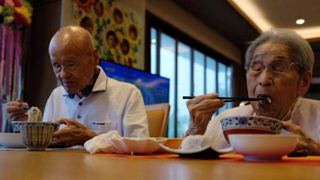 pasangan suami istri tertua di Jepang