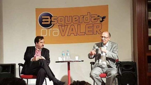 Geraldo Alckmin em evento da corrente tucana Esquerda Pra Valer