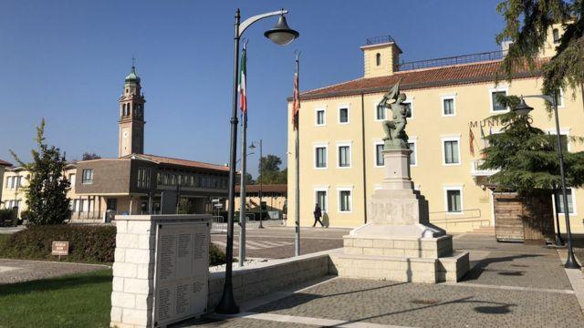 Plaza de San Martino di Venezze