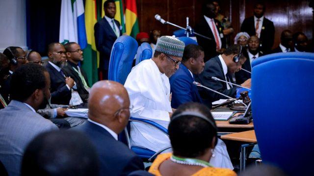 Taron ECOWAS a Abuja