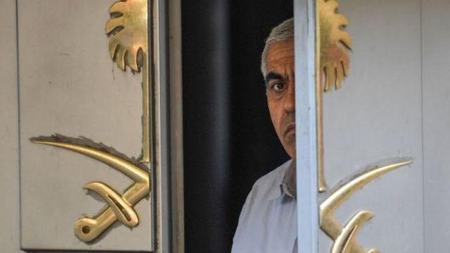 خاشقجي لم يشاهد بعد دخوله مبنى القنصلية