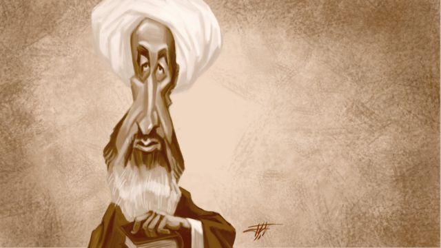 محمد حسین نائینی، معروف به علامه نائینی، صاحب رساله تنبیهالامه و تنزیهالمله. طرح از افشین سبوکی