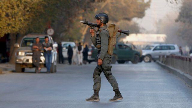 سرباز امنیتی کابل