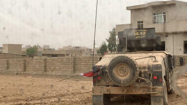 イラク軍はモスルの東から進攻した(1日)