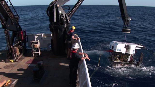 NOAAの深海調査艇が2月27日に「キャスパー」を発見した