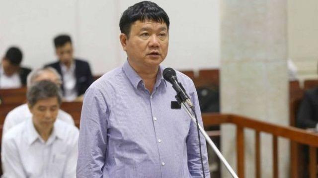 Ông Đinh La Thăng, cựu ủy viên Bộ Chính trị, bị xử tù