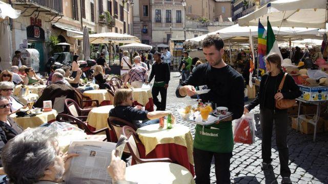 Plaza en Italia