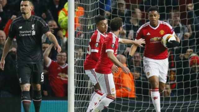Igitsindo ca Man Utd cinjijwe na Martial ku munota wa 32