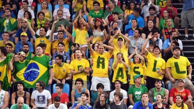 Torcida brasileira na Rio 2016