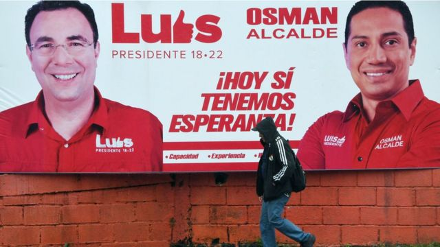 Propaganda de Luis Zelaya y el partido Liberal de Honduras.