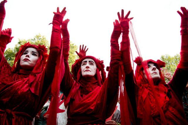 Кліматичний протест у Лондоні