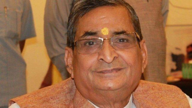 பாரதிய ஜனதா கட்சியின் மாநிலங்களவை உறுப்பினர் ரவீந்த்ர கிஷோர் சின்ஹா