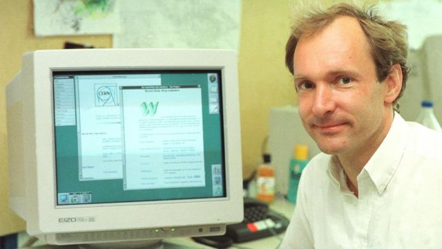 Tim Berners-Lee, julio de 1994.