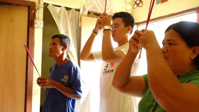 'Cina Benteng' di Tangerang Merayakan imlek dalam kesederhanaan