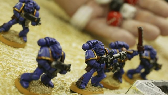 Миниатюры Warhammer