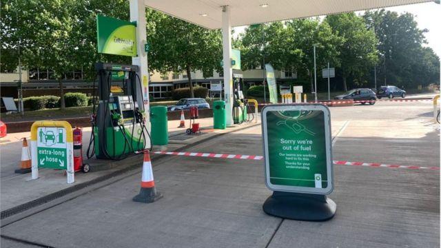Estación de gasolina de BP