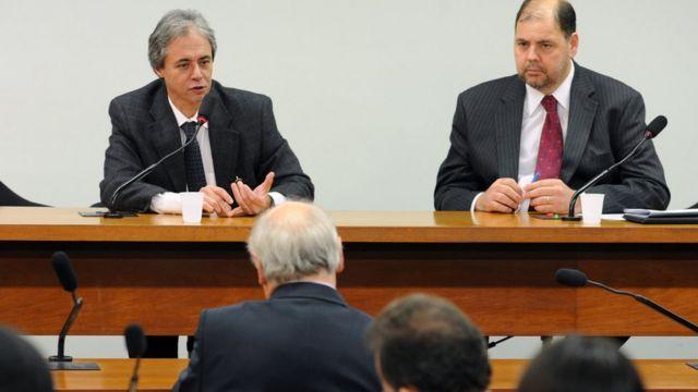 Mozart Neves Ramos em foto de 2011, durante audiência na Câmara