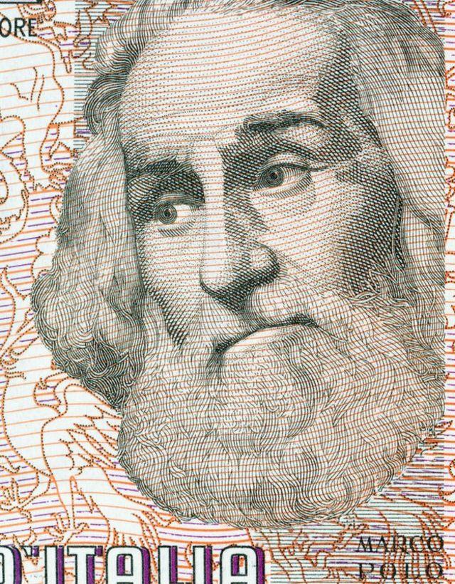 Marco Polo en billete