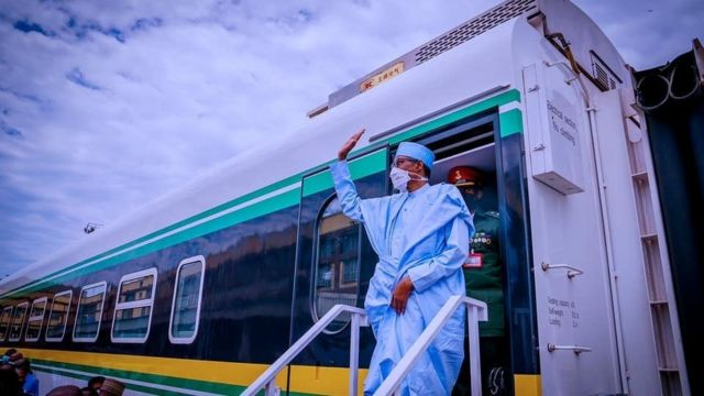 Buhari Commissions Lagos-Ibadan Railway Project
