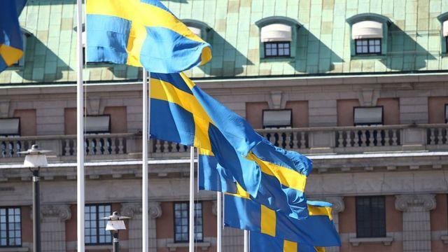 Banderas de Suecia