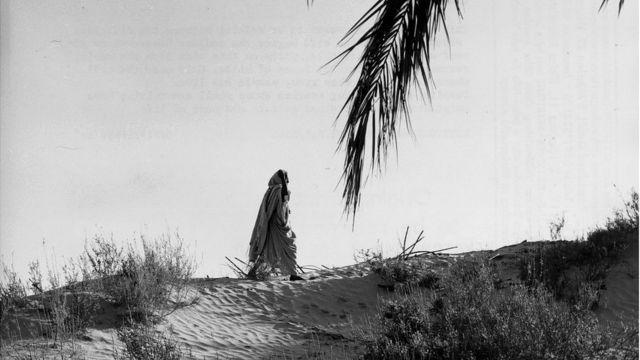 Mujer beduina en Marruecos