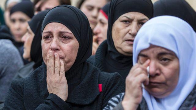 أقارب ضحايا هجوم اسطنبول