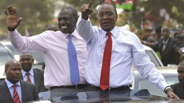 Abanyakenya benshi bari bafitiye icyizere ubumwe bw'aba bategetsi bari bakiri bato, Ruto na Kenyatta, aha bari kumwe mu kwa 10/2014
