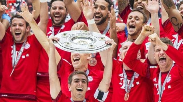 Phillip Lahm a tawagar Bayern Munich
