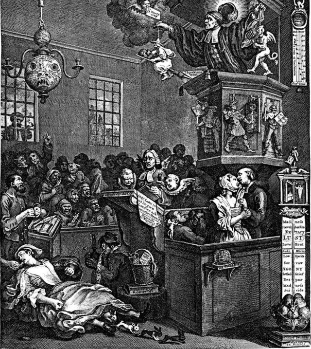 Caricatura de William Hogarth