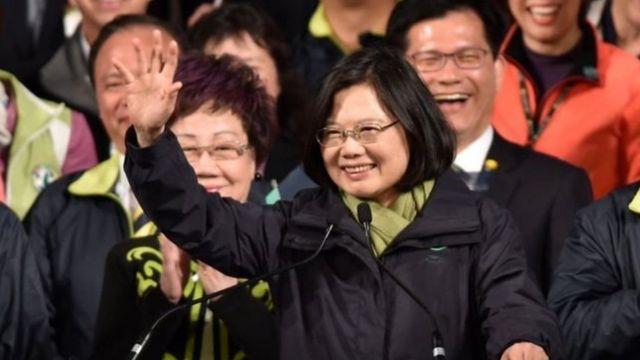 Shugaba Tsai Ing-Wen ta Taiwan